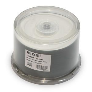 CD-R MAXELL Printable 700MB 52X 50ks/cake