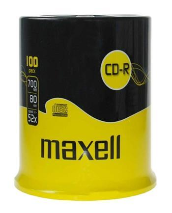 CD-R MAXELL 700MB 52X 100ks/cake