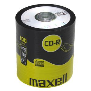 CD-R MAXELL 700MB 52X 100ks/spindel