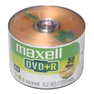 DVD+R MAXELL 4,7GB 16X 50ks/spindel