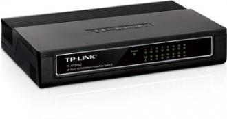 TP-LINK TL-SF1016D 16-port 10/100M mini Desktop Switch, 16x