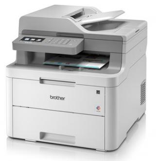 MFP laser far BROTHER DCP-L3550CDW - P/C/S, Duplex, ADF, Ethernet, WiFi