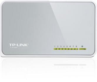 Mini Desktop Switch TP-LINK TL-SF1008D 8-port 10/100M, 8x 10