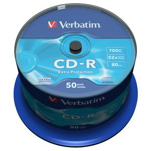 CD-R VERBATIM DTL 700MB 52X 50ks/cake