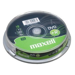 DVD+R MAXELL 4,7GB 16X 10ks/cake